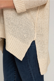 She & Sky  Hi low sweater - Front full body
