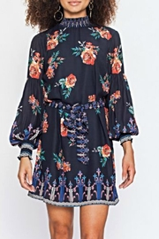 Flying Tomato Hi-Neck Floral Dress - Product Mini Image