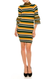 Jealous Tomato Hi-Neck Sweater Dress - Product Mini Image
