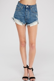 Signature 8 Hi-Rise Distressed Shorts - Product Mini Image