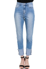 Cello Jeans Hi-Rise Mom Jean - Product Mini Image