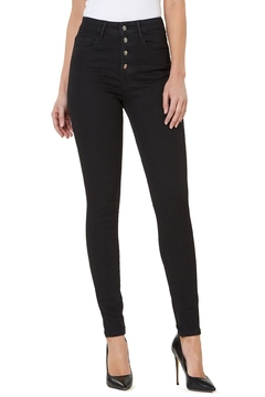 Numero Denim Hi Rise Skinny w Exposed Buttons - Product List Image