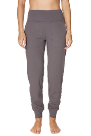 Betsey Johnson Hi Rise Slim Jogger - Front cropped