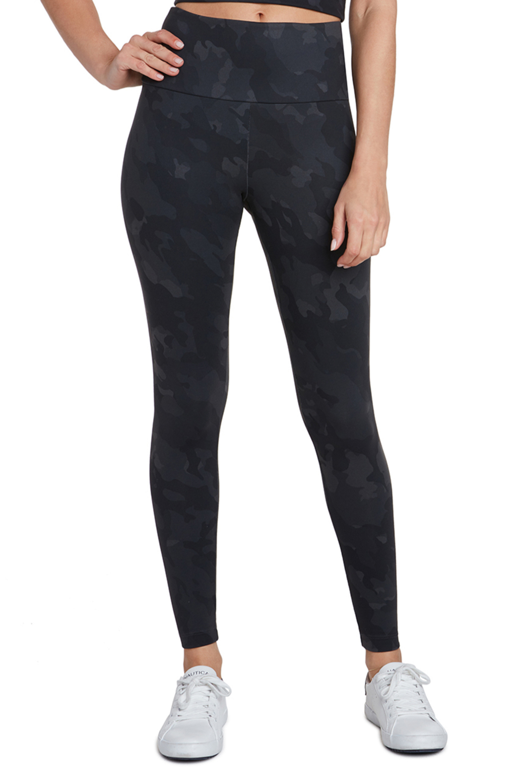 Search for Sanity Hi Waist Camo Leggings - Main Image