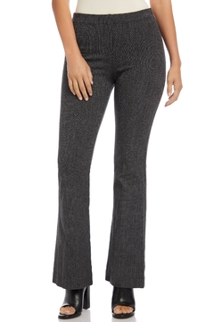 Shoptiques Product: Hi Waisted Tweed Bootcut Pants