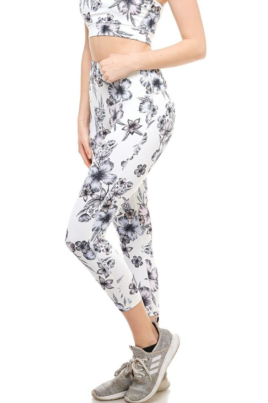 0fc3f387a6d Mono B Hibiscus Active Legging from New York by Dor L Dor — Shoptiques