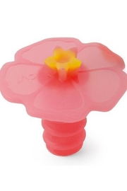 Charles Viancin Hibiscus Bottle Stoppers - Product Mini Image