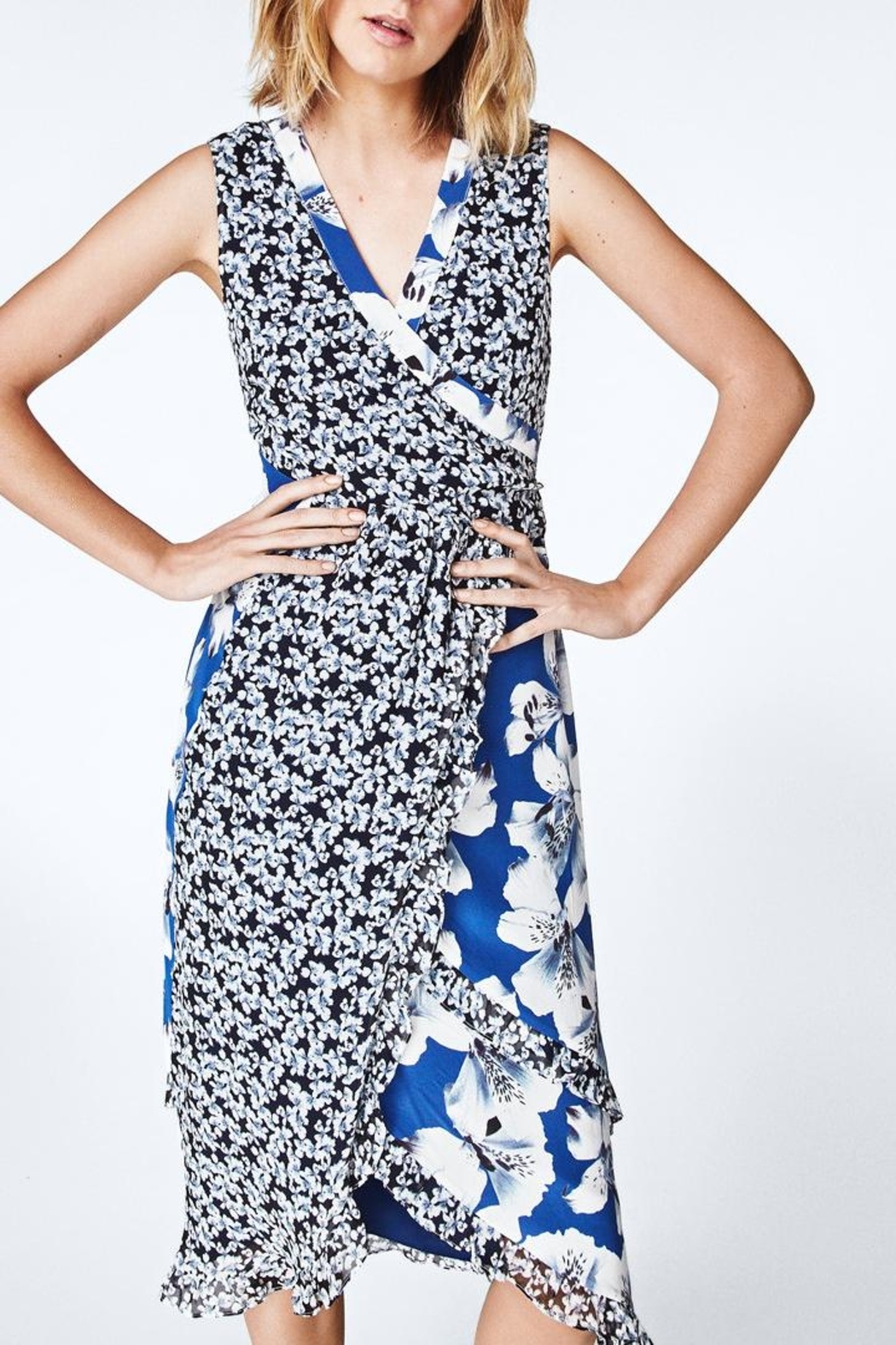 Nicole Miller Hibiscus Canopy Dress - Main Image