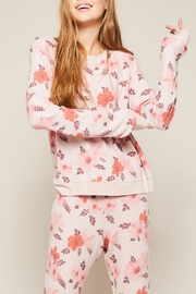 All Things Fabulous Hibiscus Cozy Jumper - Back cropped