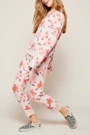 All Things Fabulous Hibiscus Cozy Pants - Product Mini Image