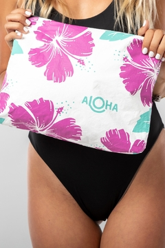 Aloha Collection Hibiscus Zipper Bag - Alternate List Image