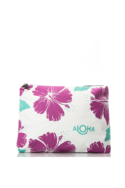 Aloha Collection Hibiscus Zipper Bag - Front cropped