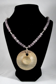 Silver Serpent Studio Hickory Wood Necklace - Side cropped