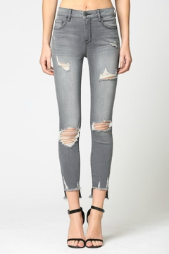 Hidden Jeans Amelia Destructed Skinny - Product List Image