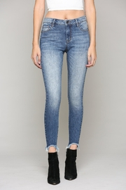 Hidden Jeans Amelia Mid-Rise Skinny - Front cropped