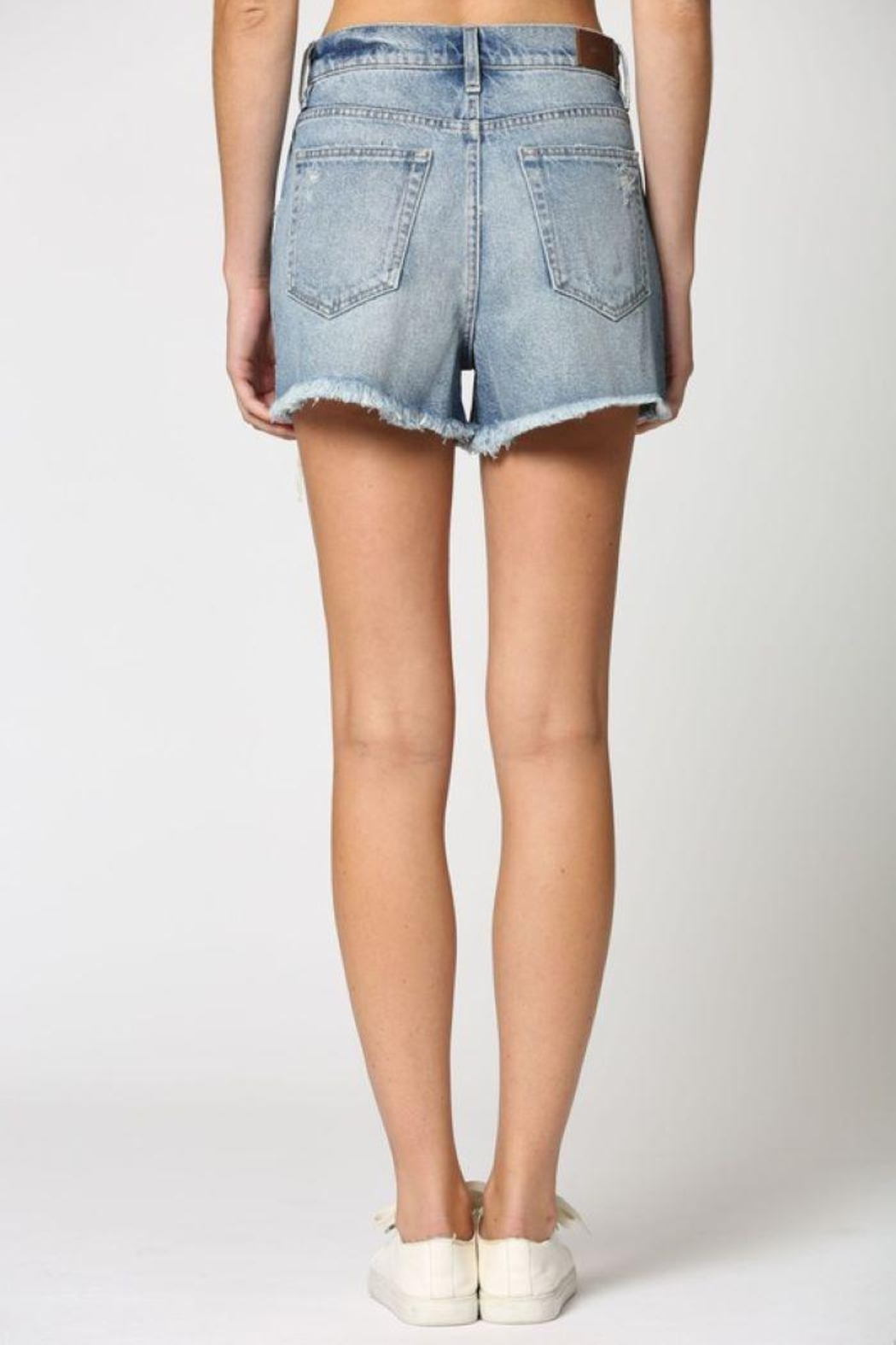 Hidden Jeans Classic Vintage Mom Shorts - Side Cropped Image