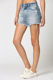 Hidden Jeans Classic Vintage Mom Shorts - Front full body