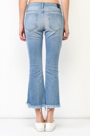 Hidden Jeans Cropped Flare Jeans - Front full body
