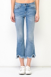 Hidden Jeans Cropped Flare Jeans - Front cropped