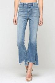 Hidden Jeans Cropped Flare Jean - Product Mini Image