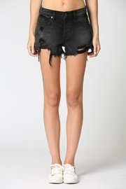 Hidden Jeans Distressed Frayed Shorts - Product Mini Image