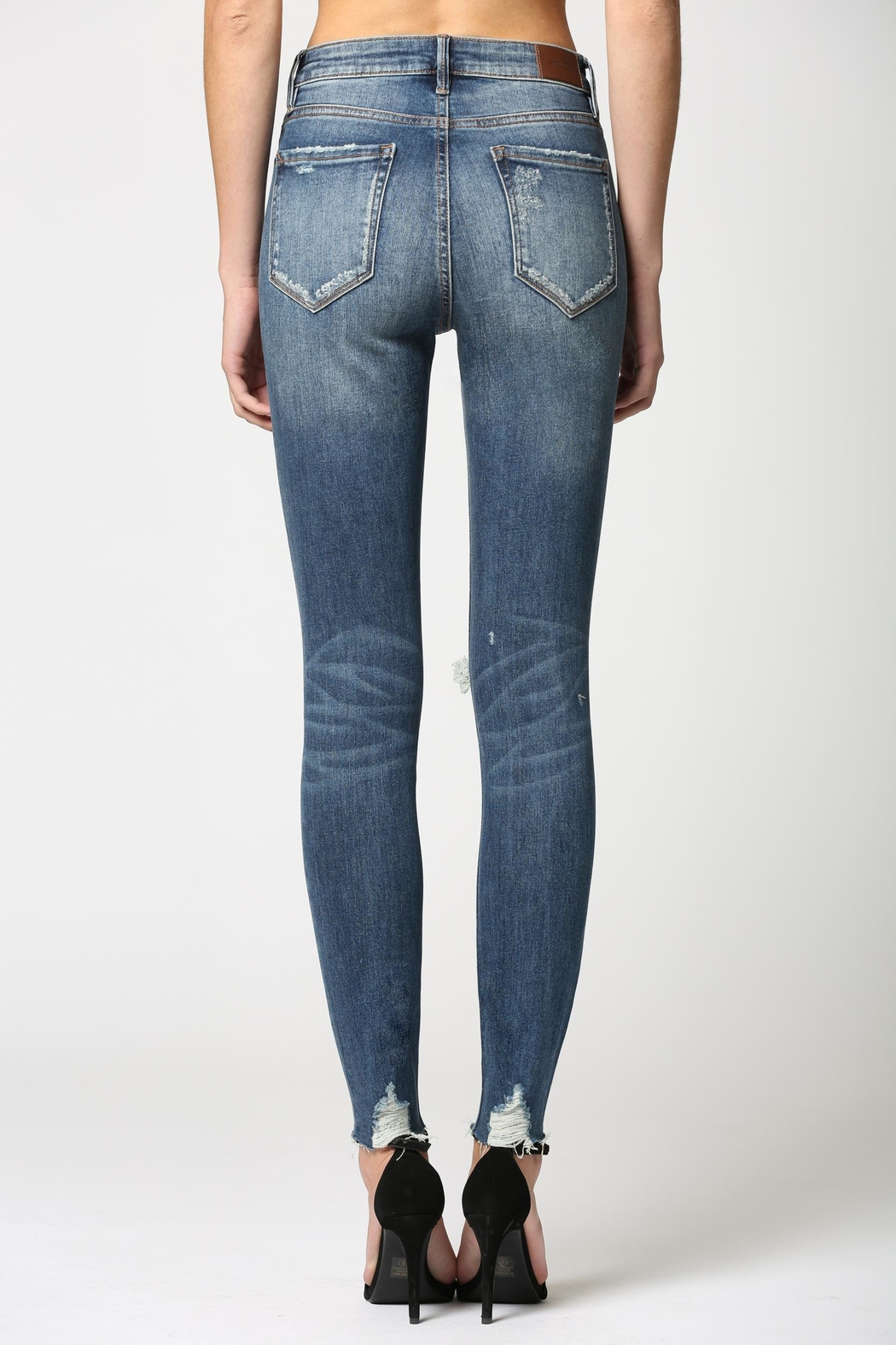 Hidden Jeans High Rise Skinny Jean - Side Cropped Image
