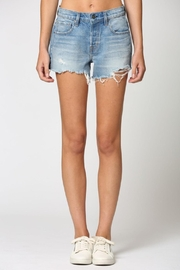 Hidden Jeans Kenzie Mid-Rise Shorts - Front cropped