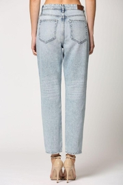 Hidden Jeans Light Wash Two Tone Straight Jeans - Other