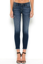 Hidden Jeans Raw Hem Skinny Jeans - Product Mini Image