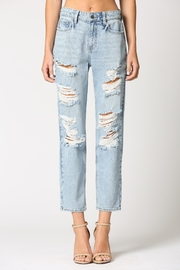 Hidden Jeans Ripped Up Boyfriend Jean - Product Mini Image
