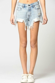 Hidden Jeans Sofie Mom Shorts - Product Mini Image