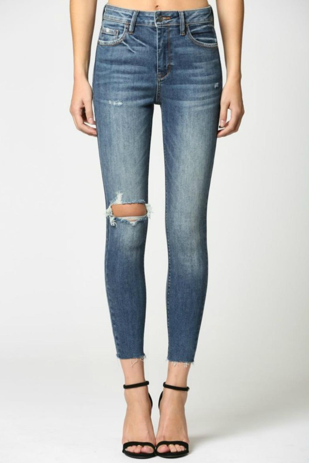 Hidden Jeans Taylor Distressed Skinny - Main Image