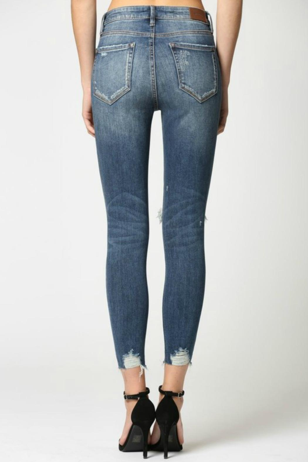 Hidden Jeans Taylor Distressed Skinny - Back Cropped Image