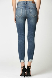 Hidden Jeans Taylor Distressed Skinny - Back cropped