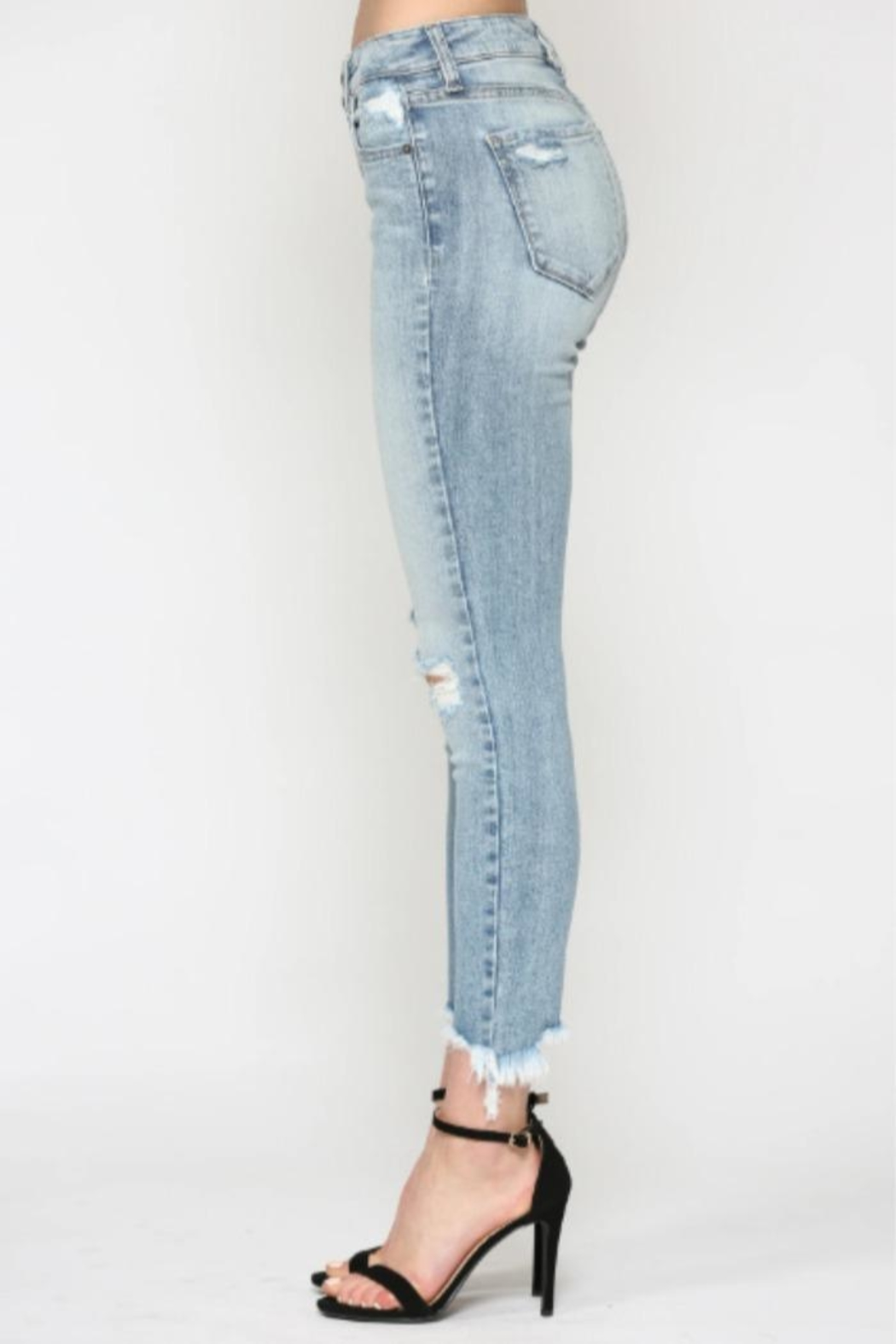 Hidden Jeans Taylor High-Rise Skinny - Side Cropped Image
