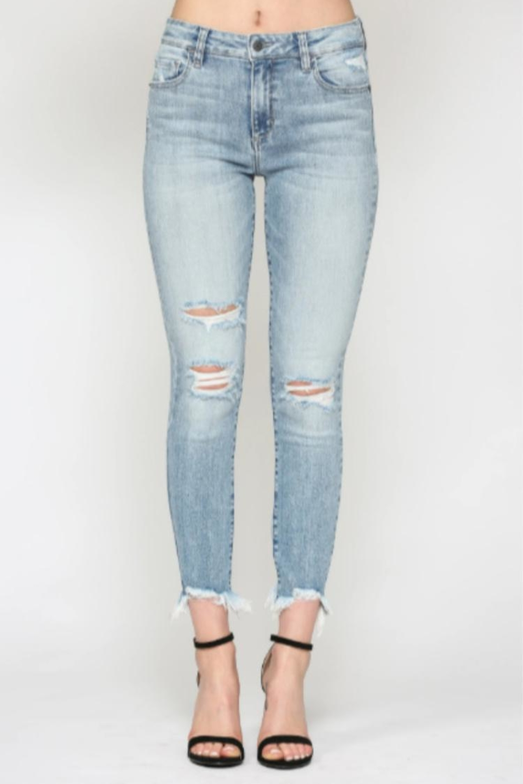 Hidden Jeans Taylor High-Rise Skinny - Main Image
