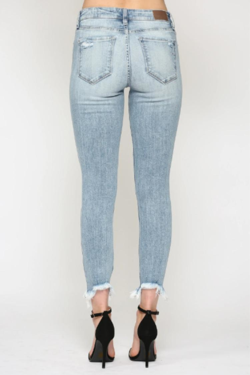 Hidden Jeans Taylor High-Rise Skinny - Back Cropped Image