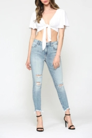 Hidden Jeans Taylor High-Rise Skinny - Front full body