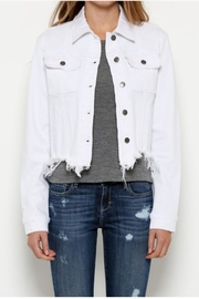Hidden Jeans White Denim Jacket - Product Mini Image