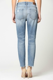 Hidden Jeans Zoey Mom Jeans - Back cropped