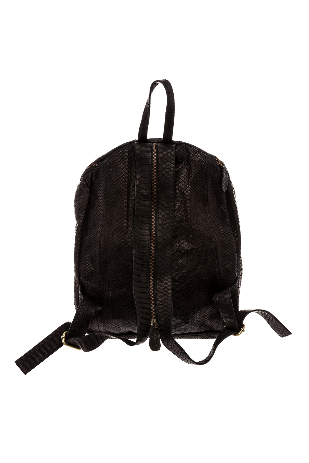 Hide and Horse Cry Baby Backpack - Back Cropped Image