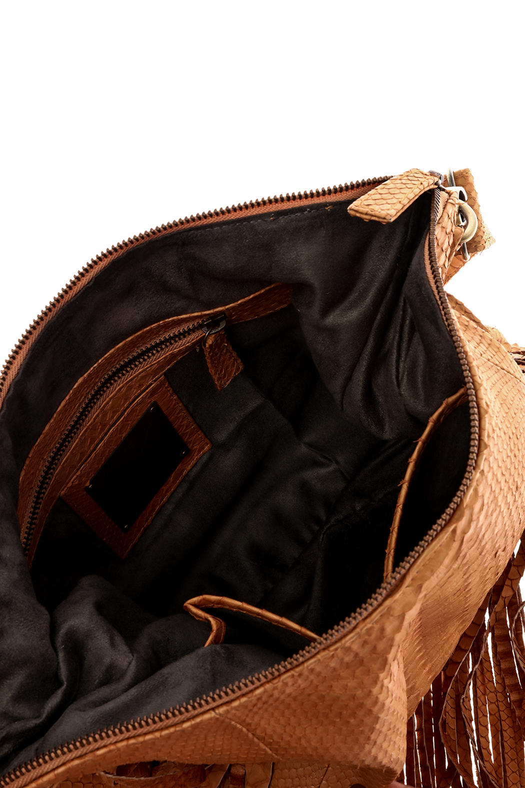 Hide and Horse Gypsy Cross Body Bag - Side Cropped Image
