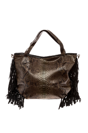 Hide and Horse Vagabond Tote - Front cropped