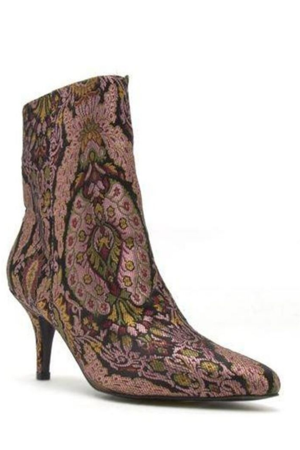 Qupid High Ankle Heeled Bootie - Main Image