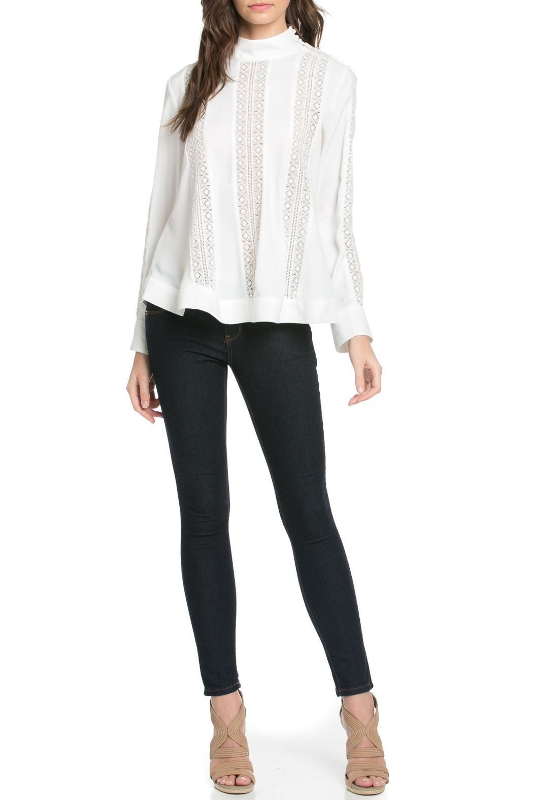TOV High Collar Blouse - Main Image