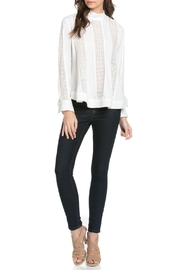 TOV High Collar Blouse - Front full body