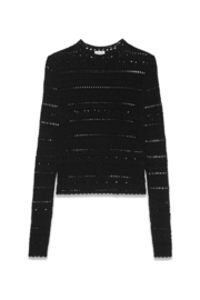 Saint Laurent High Collar Lace - Product Mini Image