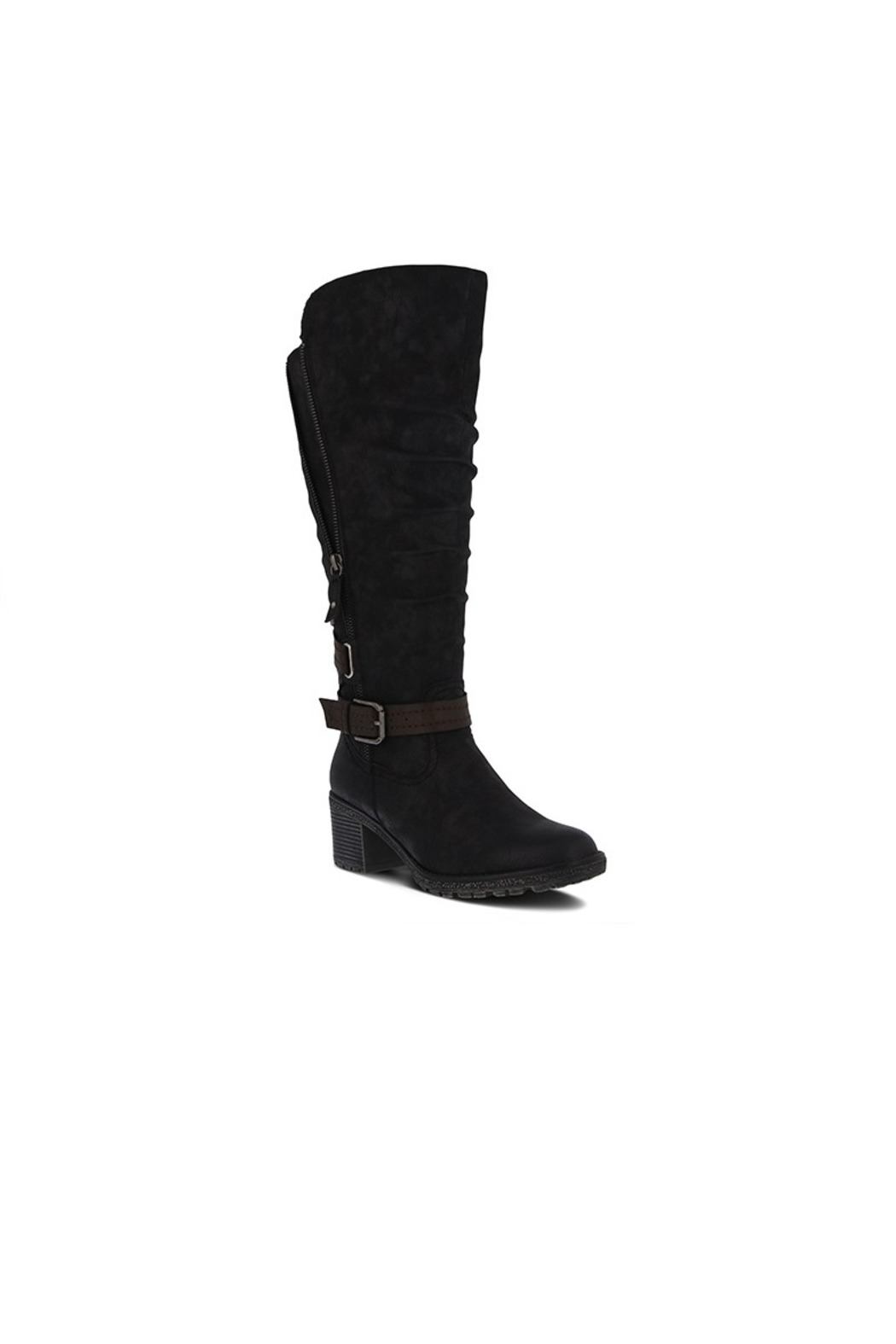 Spring Footwear High Expandable Boot - Front Cropped Image
