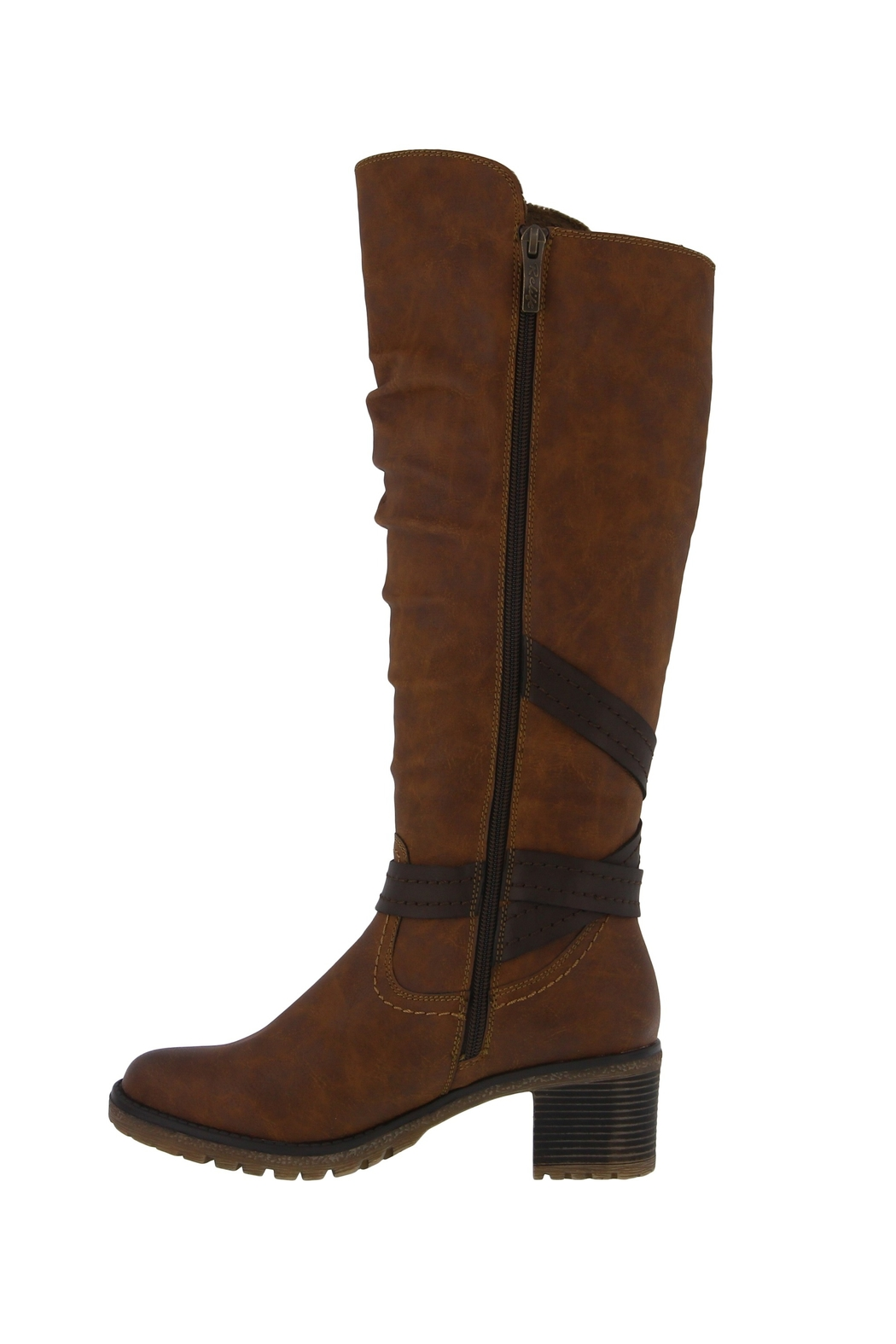 Spring Footwear High Expandable Boot - Front Full Image