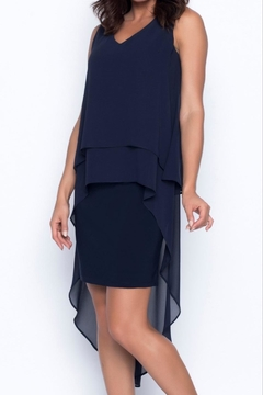 Frank Lyman High-Lo Chiffon Dress - Alternate List Image